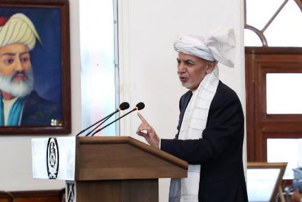 اشرف غني: زندانيان رها شده به ميدانهاي نبرد بر نخواهند گشت