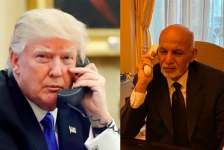 Trump Invites Ghani to US After Discussing Peace Process