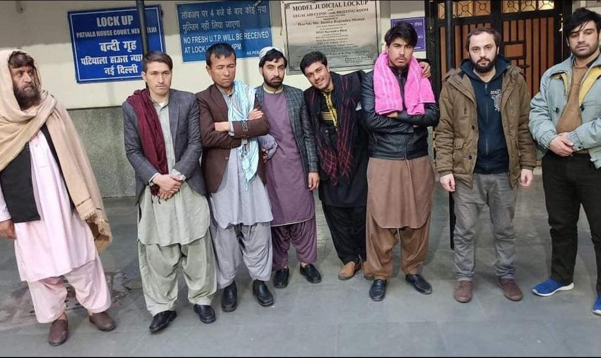 هفت شهروند افغانستانی به اتهام قاچاق هیرویین در هند بازداشت شدند