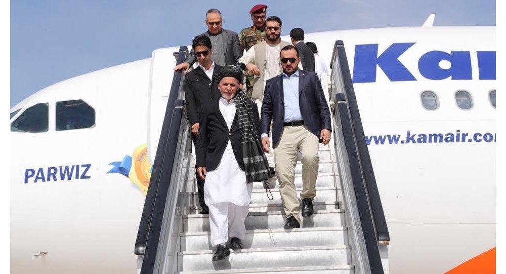 رئیس جمهور افغانستان عازم سویس شد