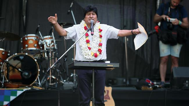 Bolivia's Morales marks end of presidency in Argentina