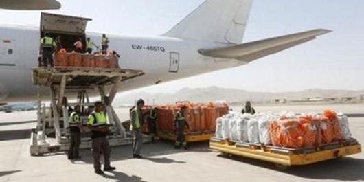 صادرات افغانستان به چین از راه هوایی متوقف شد