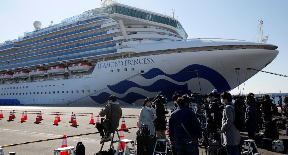 اولین شهروند روسیه در کشتی تفریحی جاپان مبتلا به ویروس کرونا شد