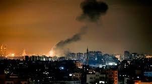 حمله جنگندههای صهیونیستی به غزه
