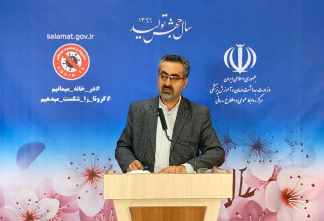 شناسایی ۲۹۸۷ مبتلای جدید به کووید ۱۹ در ایران