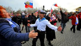 کریمه به جدایی از اوکراین رأی داد