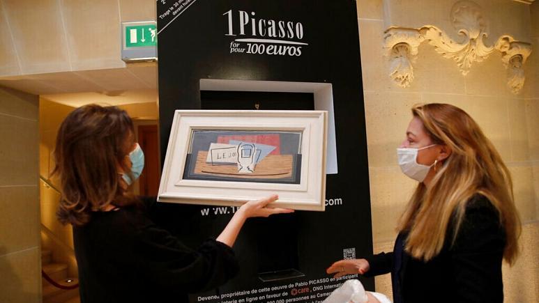 ایتالیایی خوششانس با ۱۰۰ یورو برنده تابلوی یک میلیون یورویی پیکاسو شد