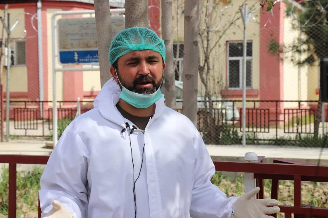 والی فاریاب به ویروس کرونا مبتلا شده است
