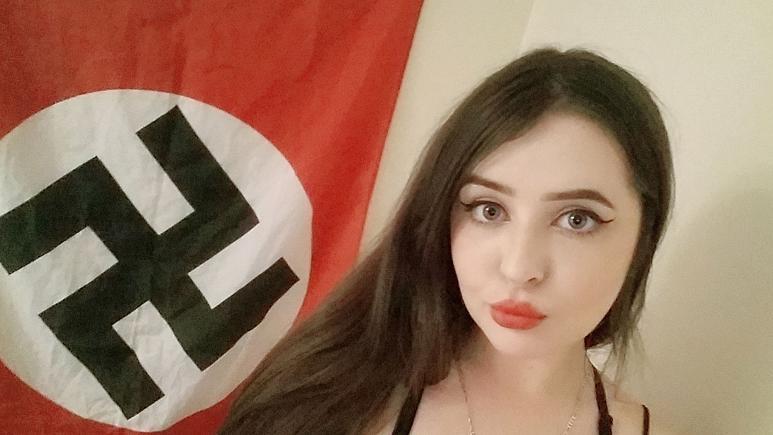 دختر شایسته هیتلری به ۳ سال زندان محکوم شد