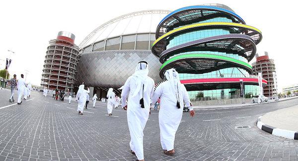 افتتاح سومین ورزشگاه جام جهانی 2022 با حضور رییس فیفا