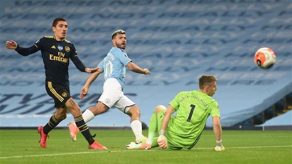 Premier League: Manchester City 3-0 Arsenal