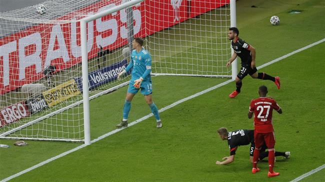 DFB-Pokal final: Bayer Leverkusen 2-4 Bayern Munich