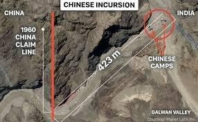 هند و چین نیروهای خود را در دره گالوان یک کیلومتر عقب بردند