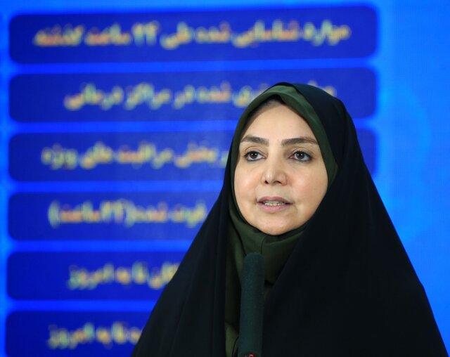 ۲۲۶۲ ابتلا و ۱۴۲ فوتی جدید کرونا در ایران