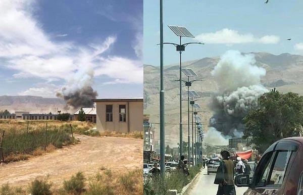 حمله طالبان به ریاست امنیت ملی سمنگان ۱۰ کشته و ۴۳ زخمی برجای گذاشت