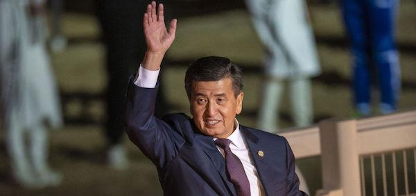 رئیسجمهور قرقیزستان استعفا میدهد