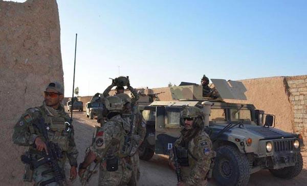بخشهایی از شهر لشکرگاه و ولسوالیهای نادعلی و ناوه هلمند از وجود طالبان پاک شد