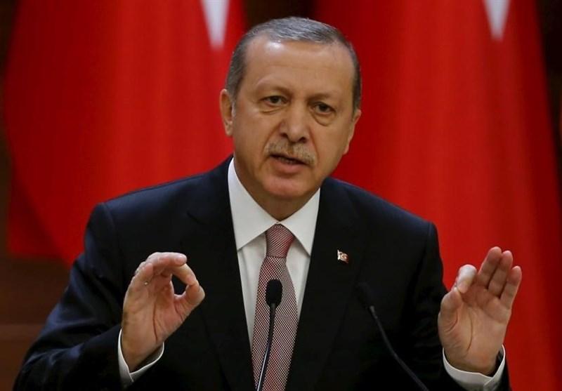 اردوغان: آمریکا از گروههای تروریستی ضدترکیه حمایت لجستیکی میکند