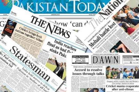 روزنامههای پاکستان - شنبه 5حمل