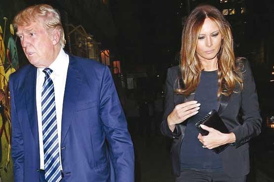 اختلاف زناشویی ترامپ و ملانیا علنی شد