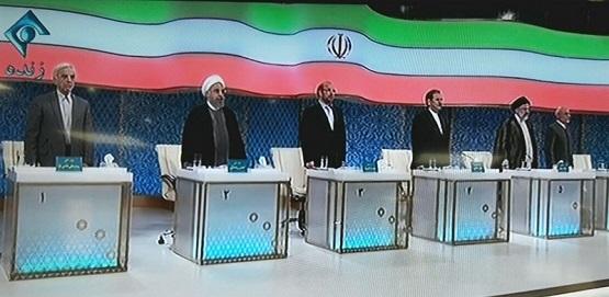 قطع نشرات انترنتی تلویزیون ایران هنگام مناظره انتخاباتی