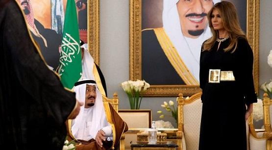 Melania Forgoes Hijab on Saudi Trip as Trump Ignores Riyadh War Crimes