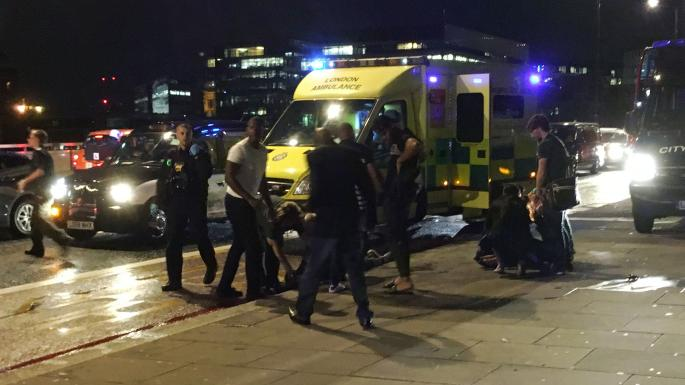 Ten Killed, Dozens Injured after Assailants Plow Van into Crowd, Stab People in London