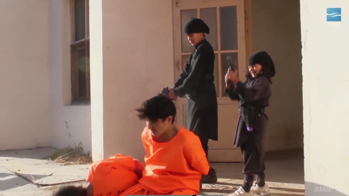 ISIS in Afghanistan release grim execution video purports to show execution by children+Video