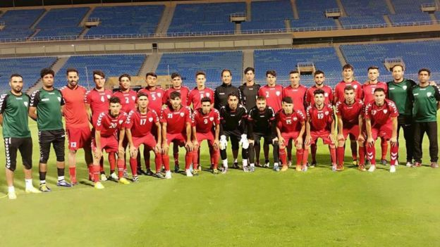 شکست سنگین فوتبال افغانستان مقابل عراق