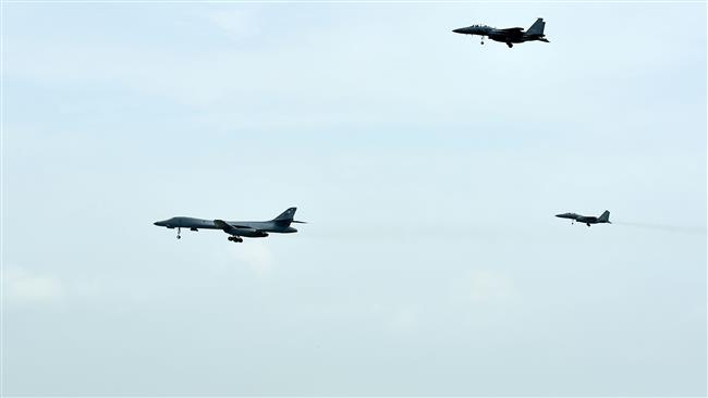 Japan conducts air exercise with US over East China Sea