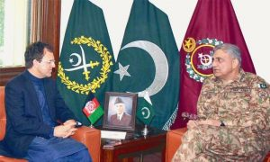 Afghan ambassador meets Pak army chief amid new political developments