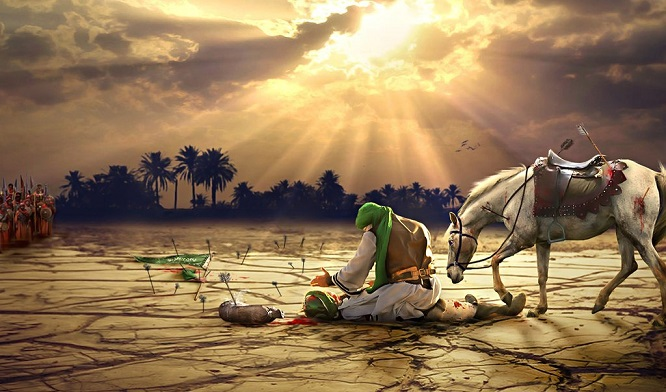 Why do the Shia remember Imam Hussain every year?