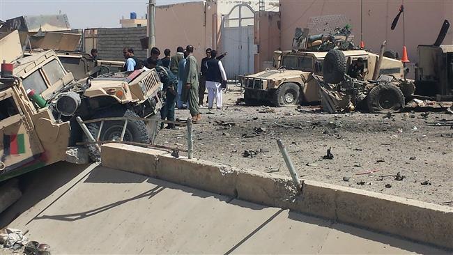 Twin bombings, gun fight kill six police in Afghanistan