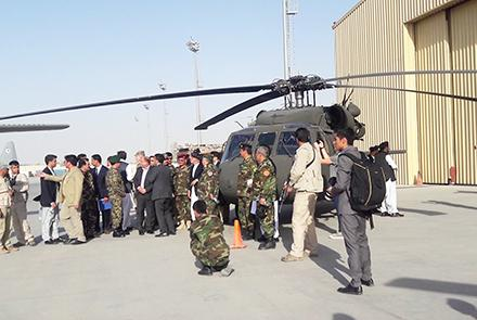US Hands Over Two More Black Hawks To AAF